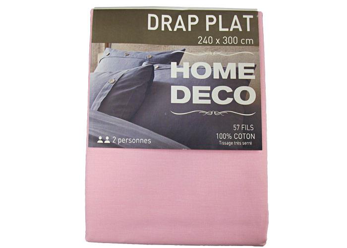 drap plat pas cher en coton uni lit 2 places de 140 drap today ebay. Black Bedroom Furniture Sets. Home Design Ideas